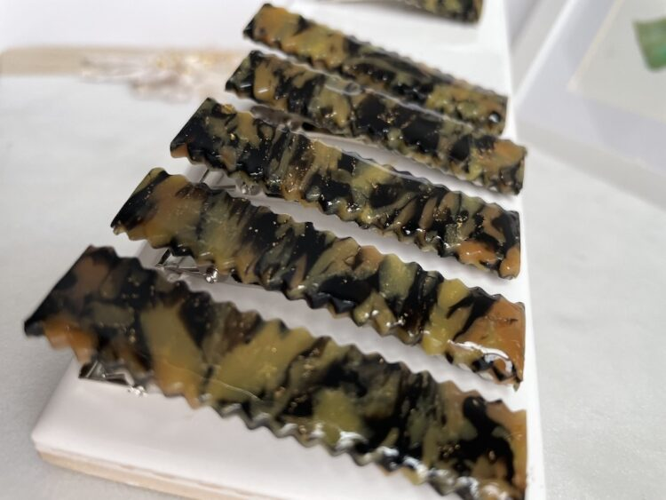 Tortoise Shell Hairclips