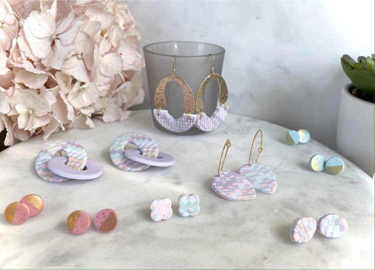 Spring Pastel Clay Earring Collection
