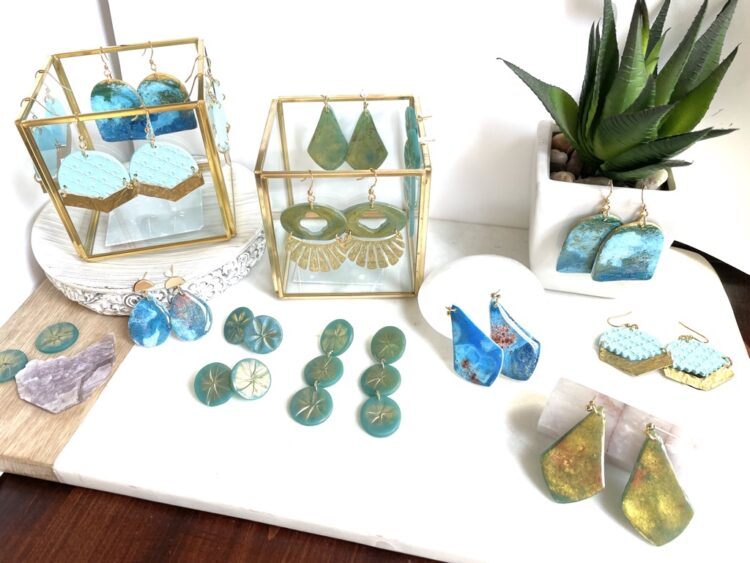 Beachy Waves Earring Collection