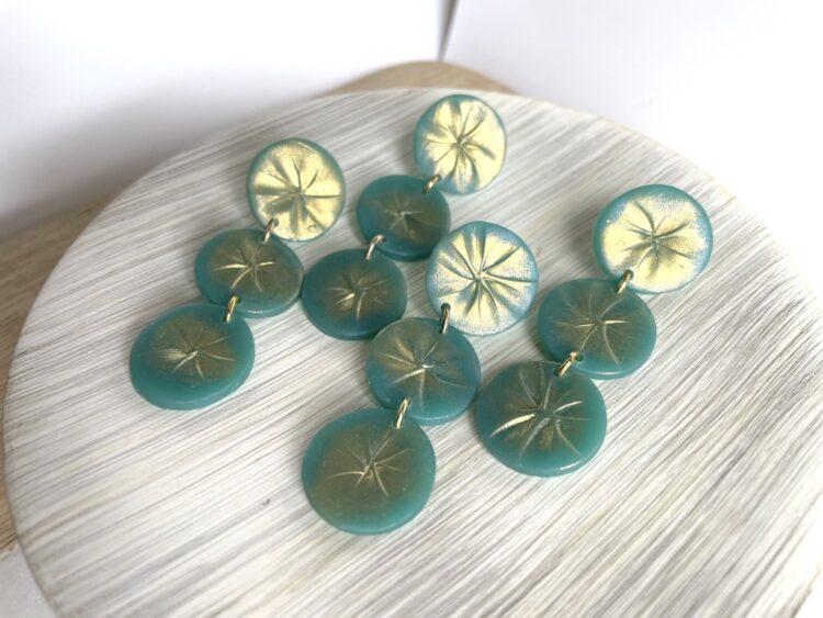 Turquoise Beachy Earrings