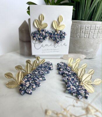 Fall Floral Earrings